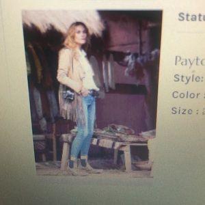 Free People Paige highwaist skinny jeans.  3 for 1